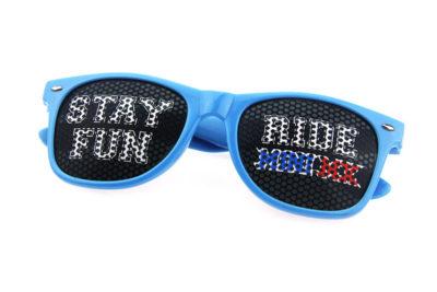 promotional pinhole sunglasses