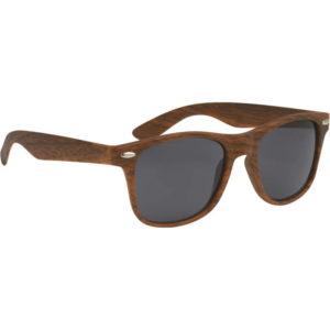 Wood-Grain Custom Sunglasses Manufacturer