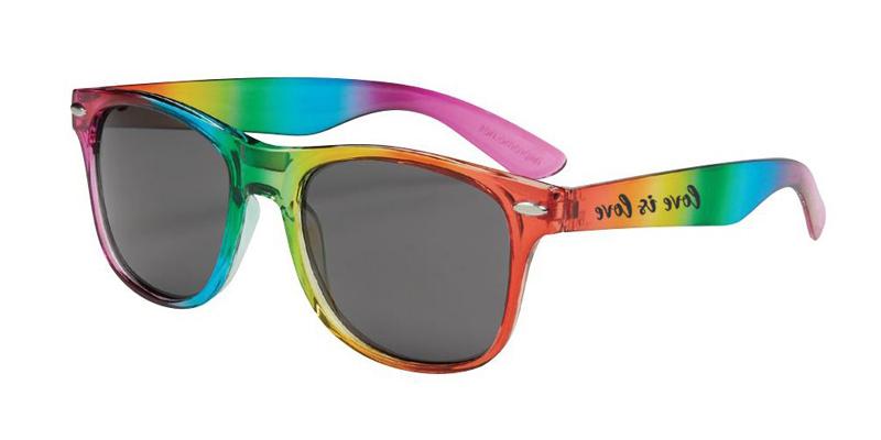 Rainbow Custom Sunglasses