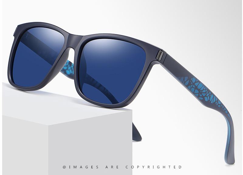 Classic Polarized Square TR90 Frame Unisex Sunglasses