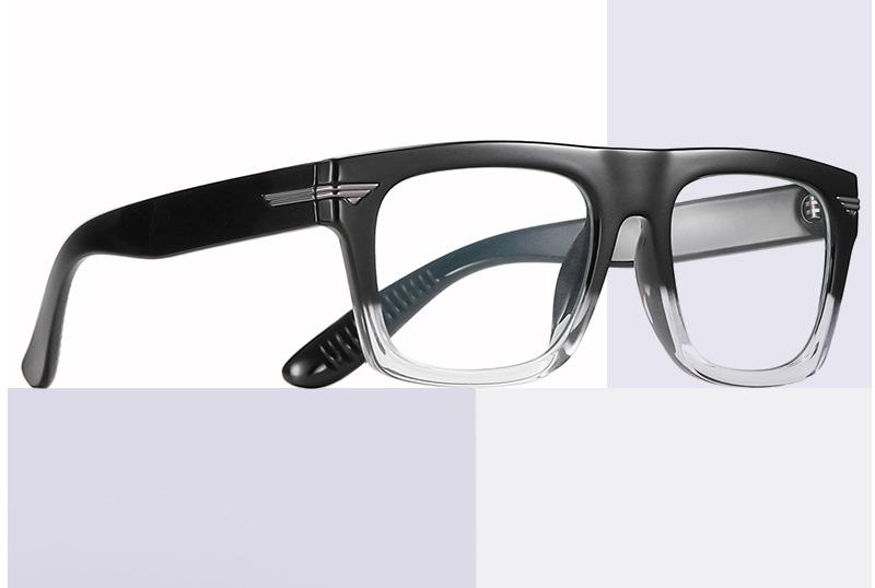 Large Retro Clear Lens Nerd Hipster Horned Rim Glasses
