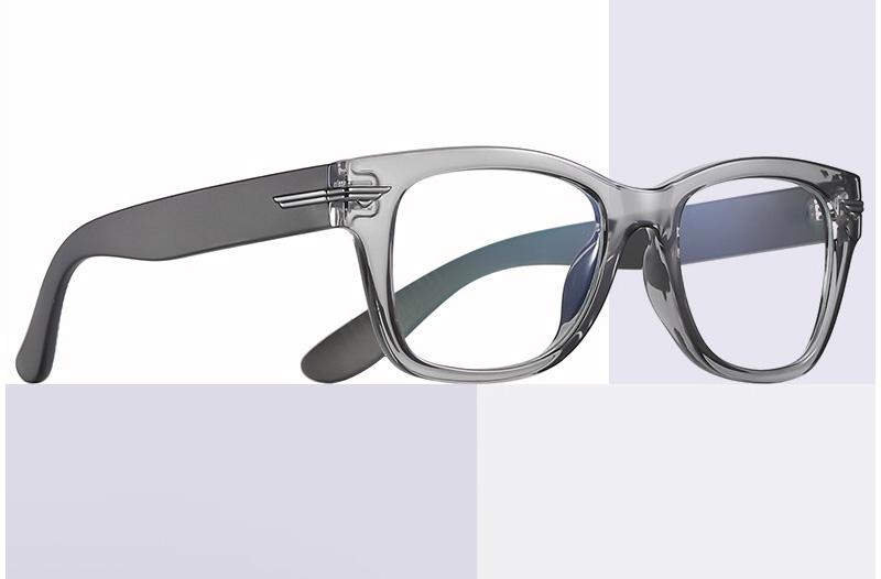 Modern TR90 Rimmed Blue Light Blocking Clear Lens Glasses