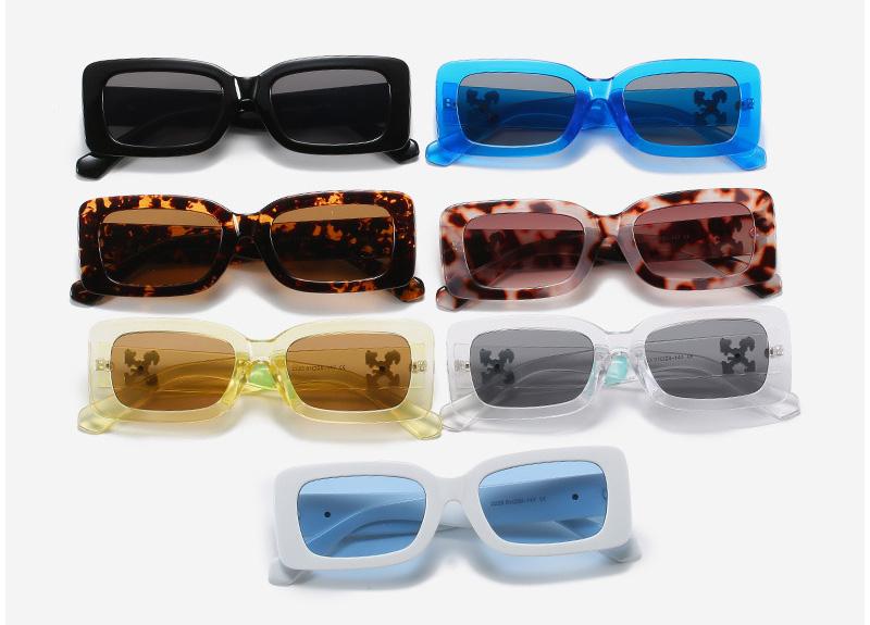 Women's Retro Small Frame Square Sunglasses