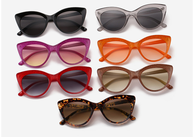 Simple Stylish Cat Eye Women's Sun Glasses Supplier