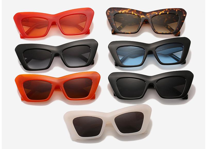 Thick Frame Trendy Cat Eye Women Sunglasses